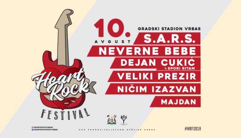 Rokeri pevaju za Natašu na Heart Rock Festu u Vrbasu, 10. avgusta