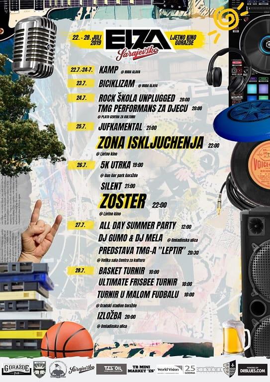 Elza Fest 2019 Goražde program
