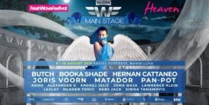 Kompletiran spisak izvođača koji će nastupiti na Main Stage-u Fresh Wave Heaven-a