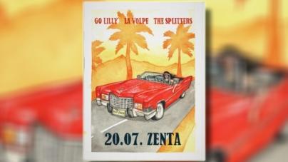Go Lilly, La Volpe i The Spliiters u subotu u splitskom klubu Zenta