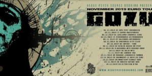 Gozu announces European tour for November of 2019
