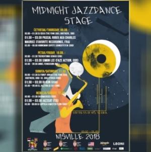 Konkurs za plakat Nisville Midnight Jazzdance Stage 2019.