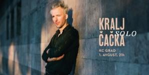 Kralja Čačka u četvrtak u bašti KC Grad-a