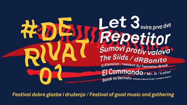 Let 3, Repetitor, The Siids i drugi naDerivat festivalu u Zadru