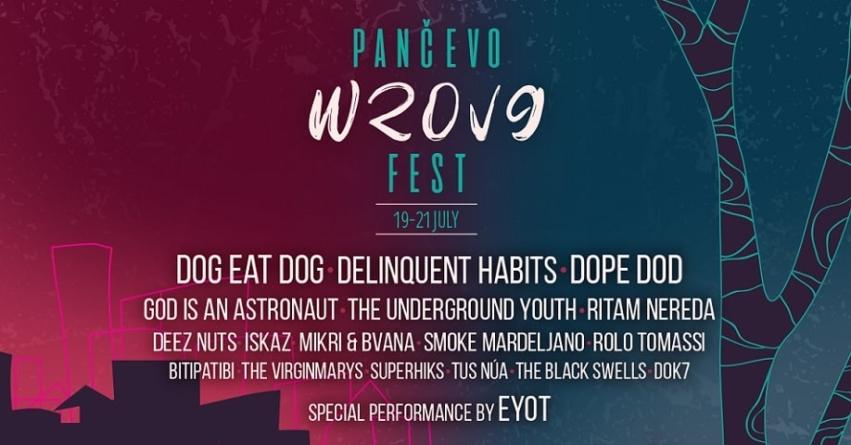 Pančevo Wrong Fest od 19. do 21. jula na tri bine