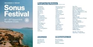Više od 70 najpoznatijih imena dolazi na Sonus festival 2019