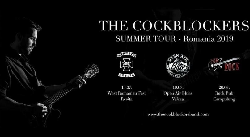 The Cockblockers u Rumuniji zajedno sa Anom Popović i Beth Hart
