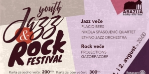 Youth Jazz & Rock Festival #2 na Paliću 1. i 2. avgusta