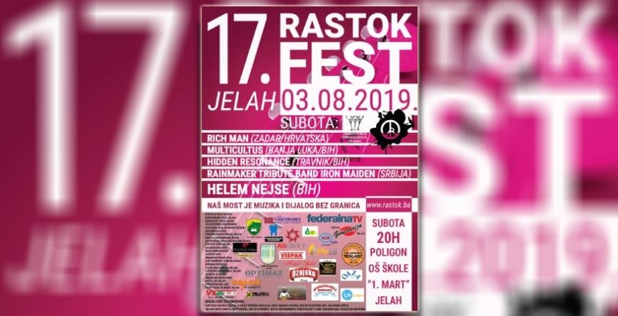 """17. Rastok Fest Jelah: """"Naš most je muzika i dijalog bez granica"""""""
