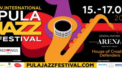 IV Međunarodni Pula Jazz Festival od 15. do 17.08.