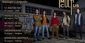 MultiCultus na Nišvillu, Rastok festu, gitarijadama u Mostaru i Trebinju…