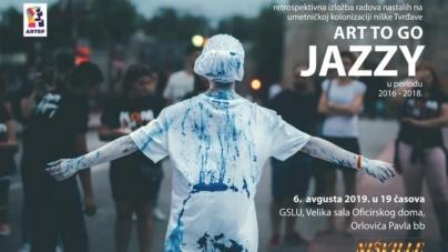 Otvaranje retrospektivne izložbe ART TO GO JAZZY 2016-2018