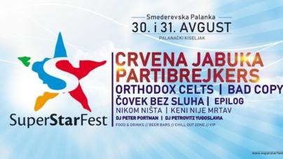 Dvodnevni Superstar festival u S. Palanci objavio program