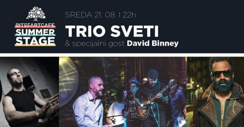 Trio Sveti 21. avgusta tradicionalno u klubu Bitefartcafe Summer Stage
