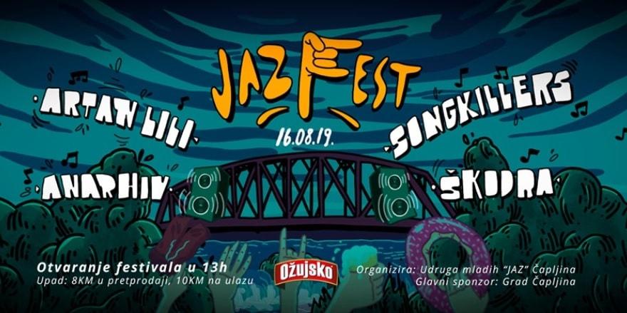 Artan Lili, Songkillers, Škodra i Anarhiv na 10. Jaz Fest-u