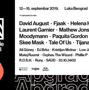 Apgrade festival u Luci Beograd od 12. do 15. septembra