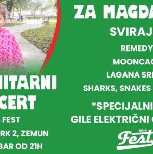Humanitarni Koncert – Fest za Magdalenu