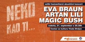 """Eva Braun, Artan Lili i Magic Bush na humanitarnom koncertu ,,Neko kao ti…"""" u UK """"Vlada Divljan"""""""