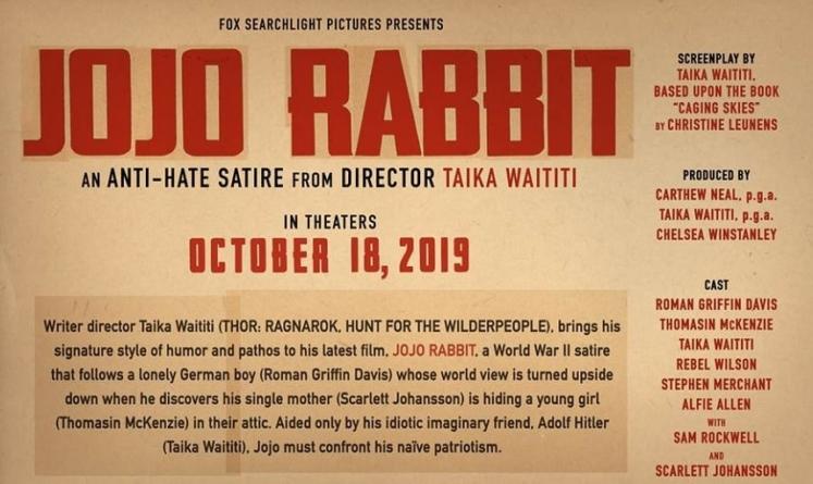 "Beatlesi i David Bowie na njemačkom u novom traileru filma ""Jojo Rabbit"""