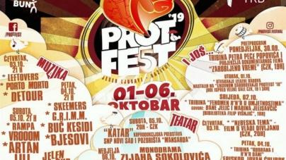 Bjesovi, Artan Lili, Buč Kesidi, Detour i drugi na 5. PROtFEST-u u Bijeljini
