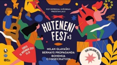 Milan Glavaški, Bernays Propaganda, Consecration i Bohemija na Huteneni Festu #3 u Domu omladine Beograda