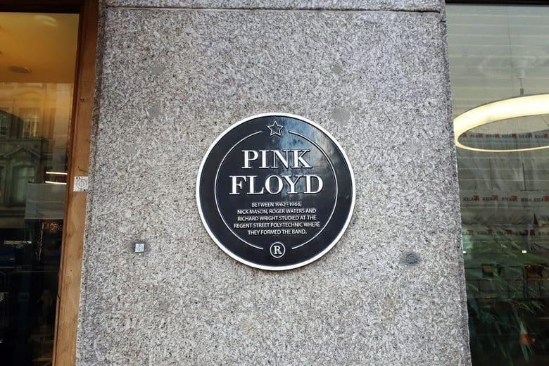 Pink Floyd Plaque