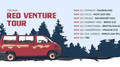 Red Venture Tour – Tús Nua kreću na europsku turneju