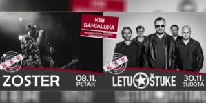 Zoster i Letu štuke u Klubu studenata Banjaluka
