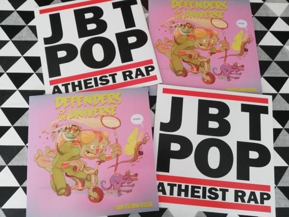 Atheist Rap i Defenders Of The Universe objavili zajedničko izdanje