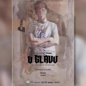 'MIKŠA' – Izložba slika Dalibora Popovića Mikše na 11. izdanju Međunarodnog festivala glumca ZAPLET