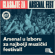 Arsenal Fest u konkurenciji za European Festival Awards