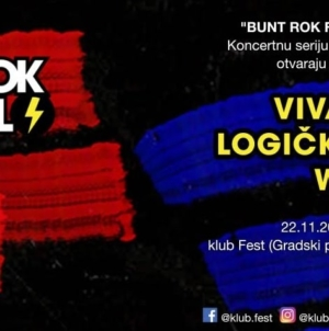 Bunt rok festival u klubu Fest: Viva Vops, Logička greška i Wajz