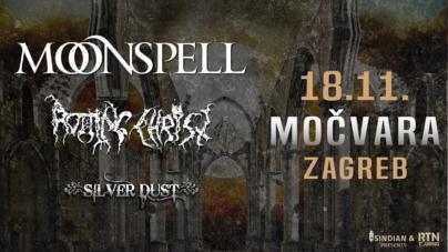 Moonspell i Rotting Christ 18.11. u zagrebačkoj Močvari