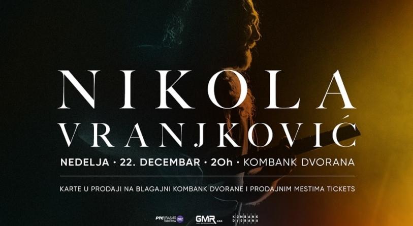 Nikola Vranjković 22. decembra u beogradskoj Kombank dvorani
