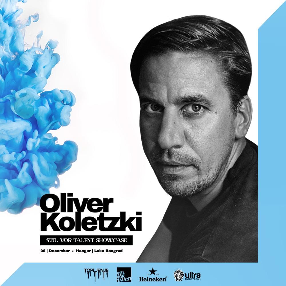 Oliver Koletzki stiže na Topljenje
