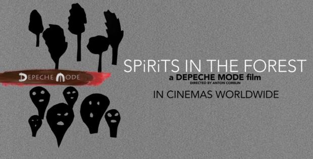 "Depeche Mode – ""SPIRITS In The Forest"" samo danas u kino dvoranama Cinestara"