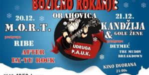 10. Božićno rokanje u Orahovici uz M.O.R.T., Kandžiju, Detmeć i druge
