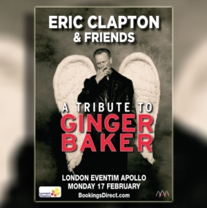 """Eric Clapton & Friends: A Tribute to Ginger Baker"" – Klepton pjeva u čast Bejkera"