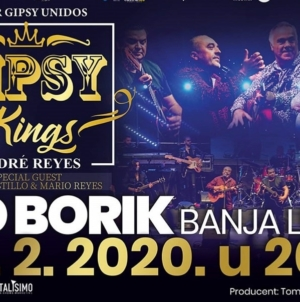 Počela prodaja ulaznica za Gipsy Kings u Banjaluci