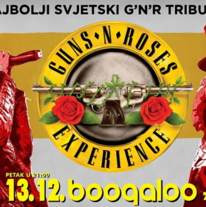 Guns N' Roses Experience – najbolji svjetski GNR tribute 13.12. u zagrebačkom Boogaloo klubu