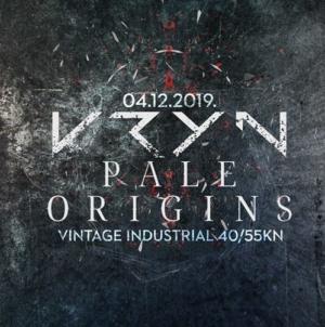 Kryn i Pale Origins u srijedu u Vintage Industrialu