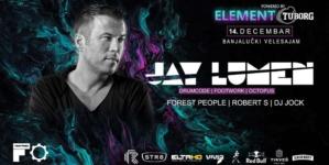 Peti 'Element' – Jay Lumen u subotu u Banjaluci