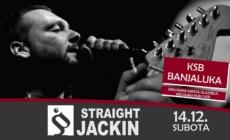 Straight Jackin 14. decembra u banjalučkom KSB-u