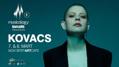 Kovacs 7. i 8. marta u beogradskom klubu Bitefartcafe