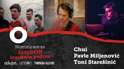 RockOff 2020: Chui, Toni Starešinić i Pavle Miljenović ruše tabue jazza