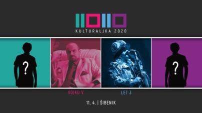 Vojko V i Let 3 dolaze na deseto izdanje Kulturaljke u Šibenik