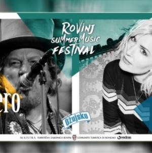 Dido i Zucchero na Rovinj Summer Music Festivalu
