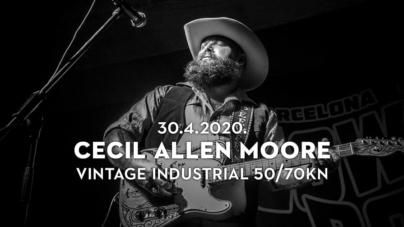Cecil Allen Moore 30.04. u zagrebačkom Vintage Industrialu