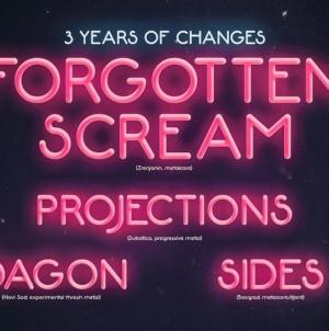 "Forgotten Scream proslavlja trogodišnjicu albuma ""Changes"" – gosti Dagon, Projections i Sides"