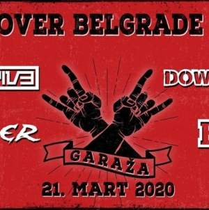 Hell Over Belgrade – Drugo izdanje festivala 21.marta u Garaži